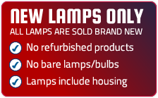 Brand New Lamps Only