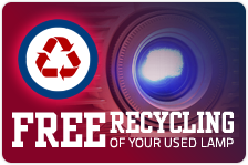 Free Projector Lamp Recycling Program